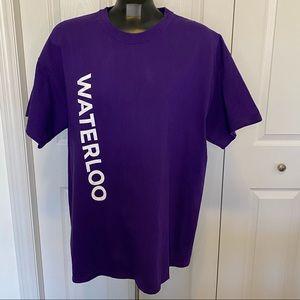 Gildan University of Waterloo T shirt Size XL